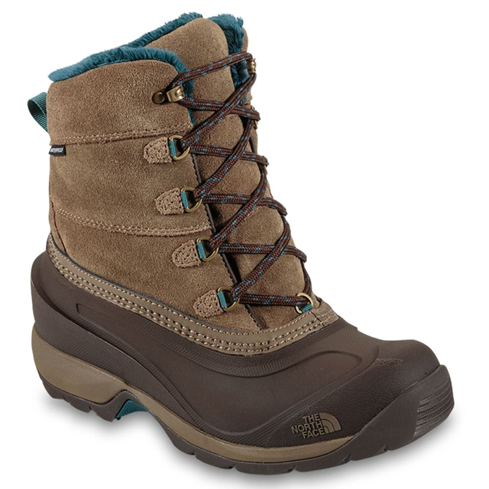 THE NORTH FACE Women's Chilkat III Winter Boots, Cub Brown - BROWN