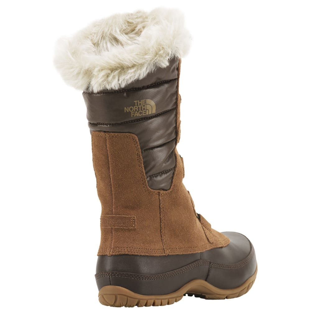 THE NORTH FACE Women's Nuptse Purna Winter Boots, Dachshund Brown - BROWN