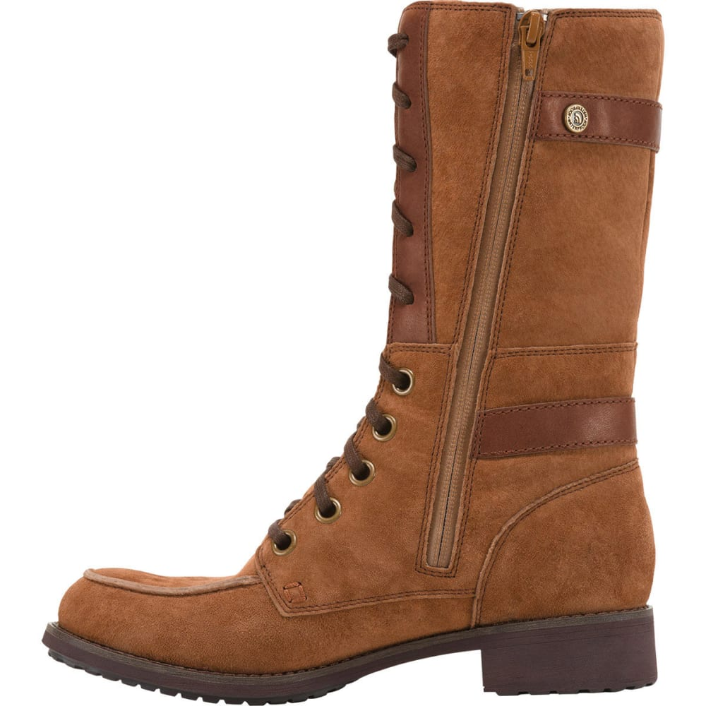 THE NORTH FACE Women's Bridgeton Lace Boots - BROWN