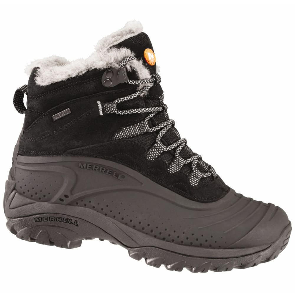 MERRELL Women's Storm Trekker 8 Winter Boots - BLACK