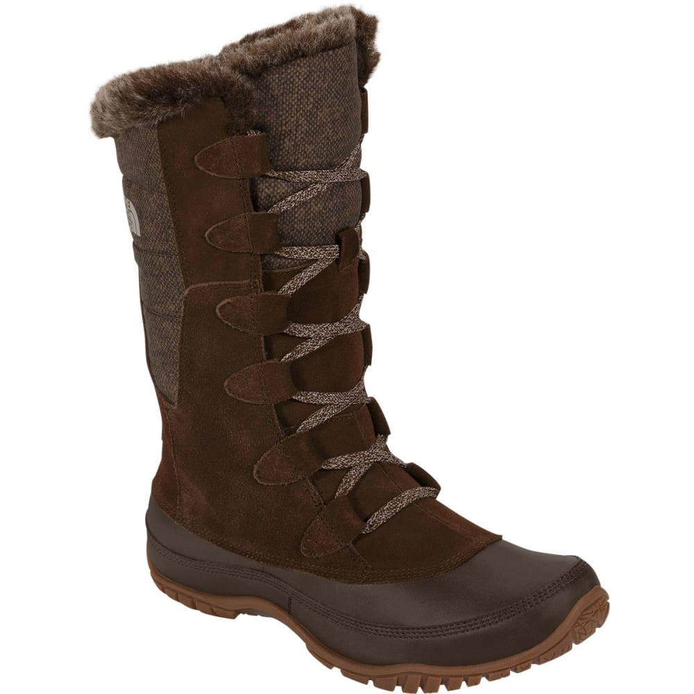 THE NORTH FACE Women's Nuptse Purna Boots, Brown - BROWN