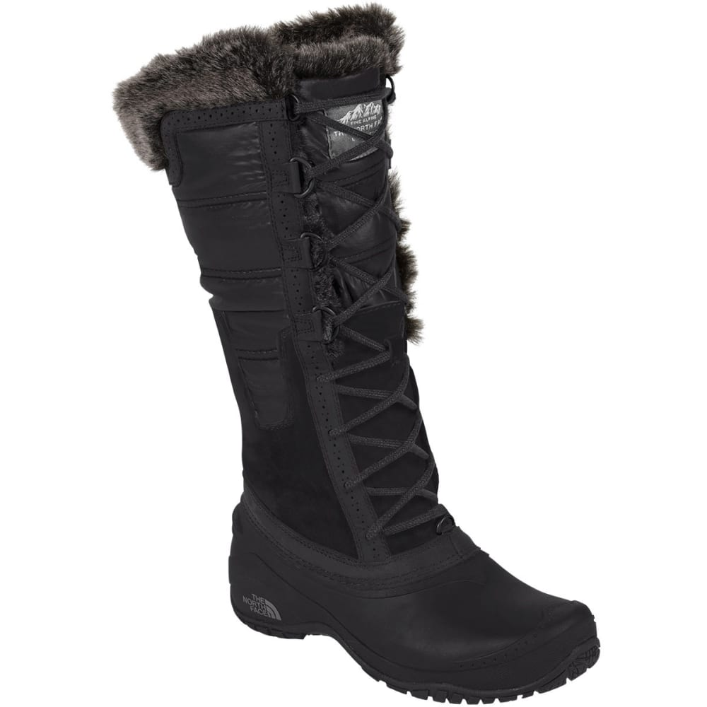 THE NORTH FACE Women's Shellista II Tall Boots, Black - BLACK