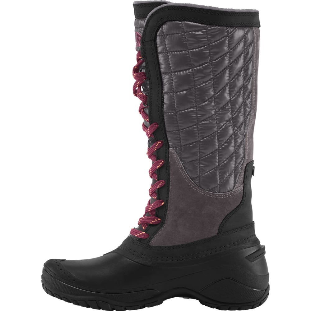 The North Face Boots Womens - The North Face Thermoball Utility Dark Red Purple