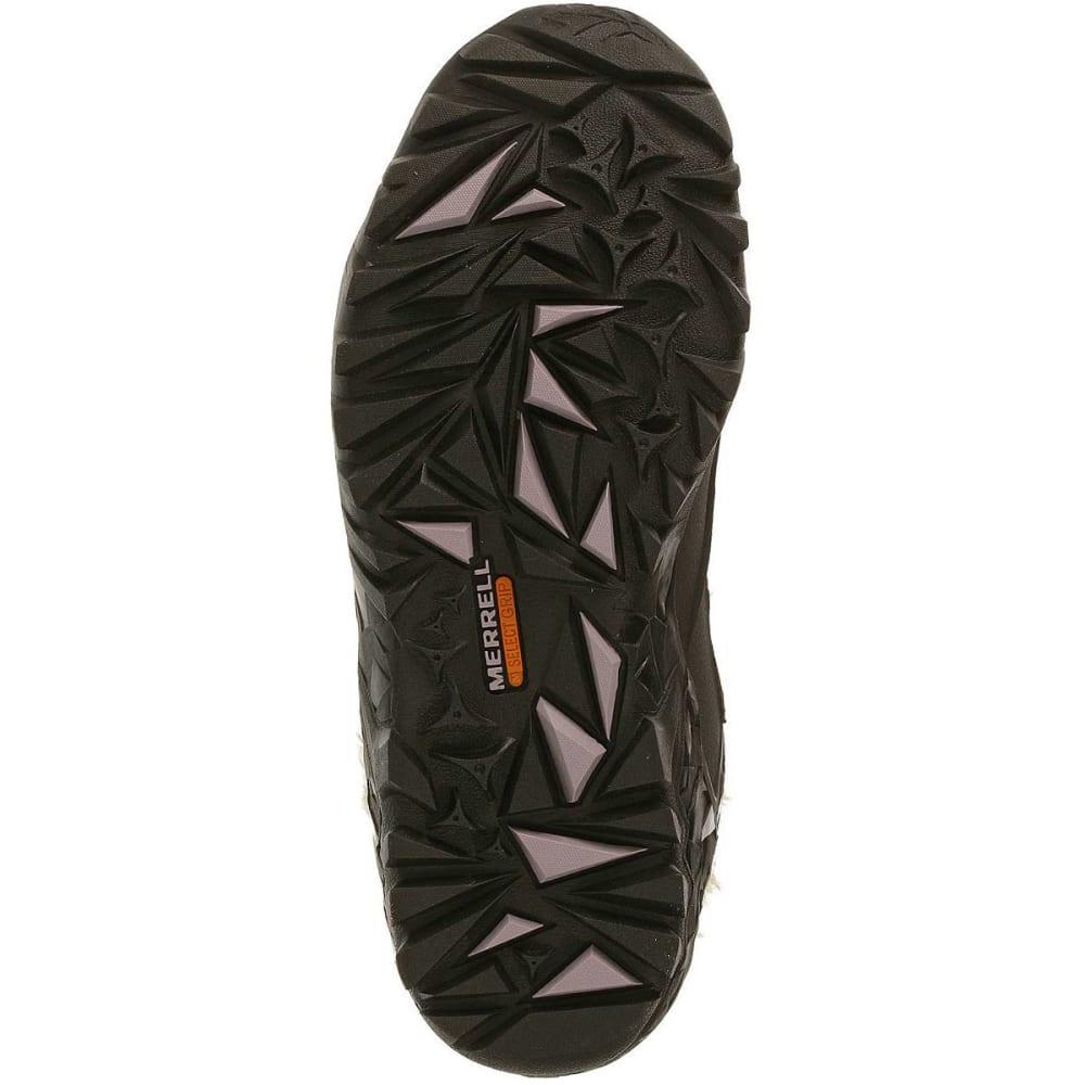 MERRELL Women's Fluorecein Shell 6 Hiking Boots - CHOCOLATE