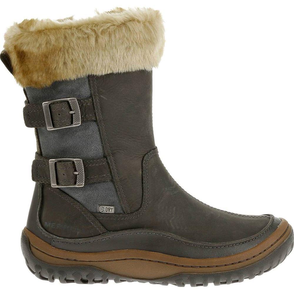 2fcf1f32 MERRELL Women's Decora Chant Waterproof Winter Boots, Wild Dove