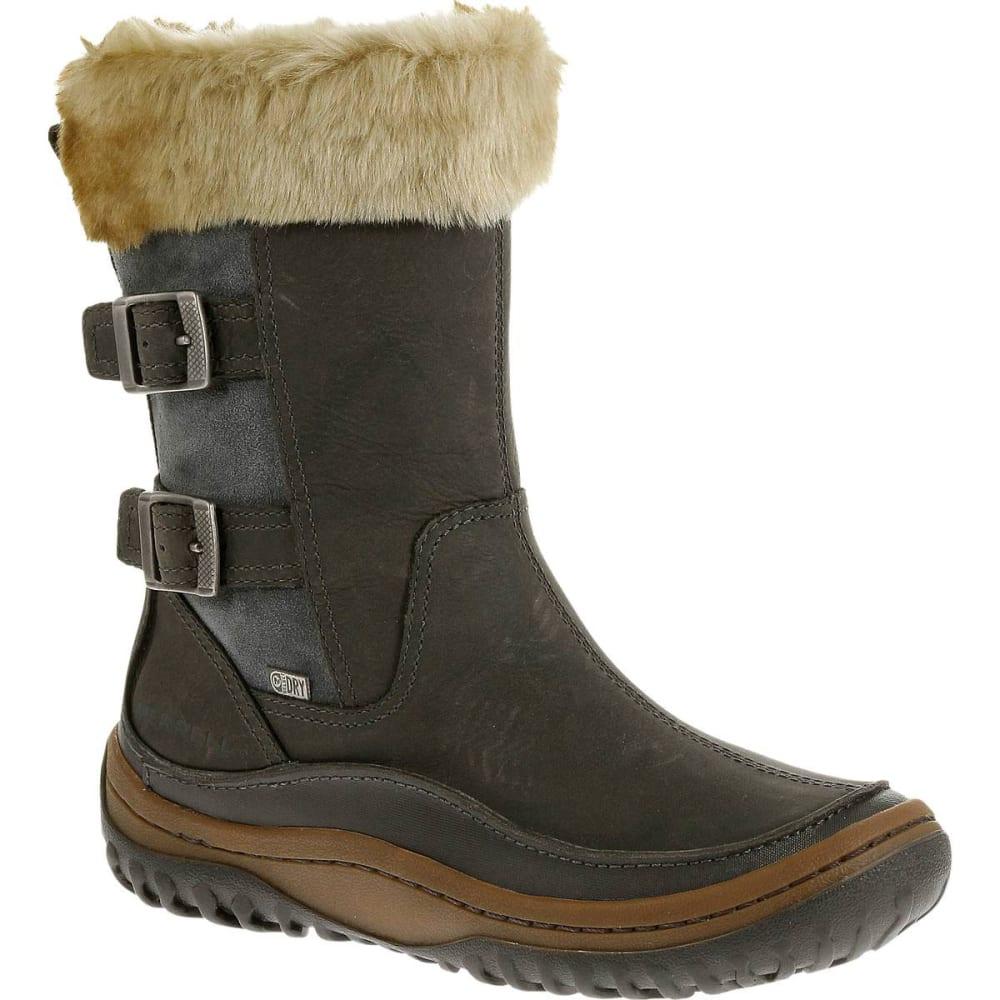 a5a40b7d43 MERRELL Women's Decora Chant Waterproof Winter Boots, Wild Dove