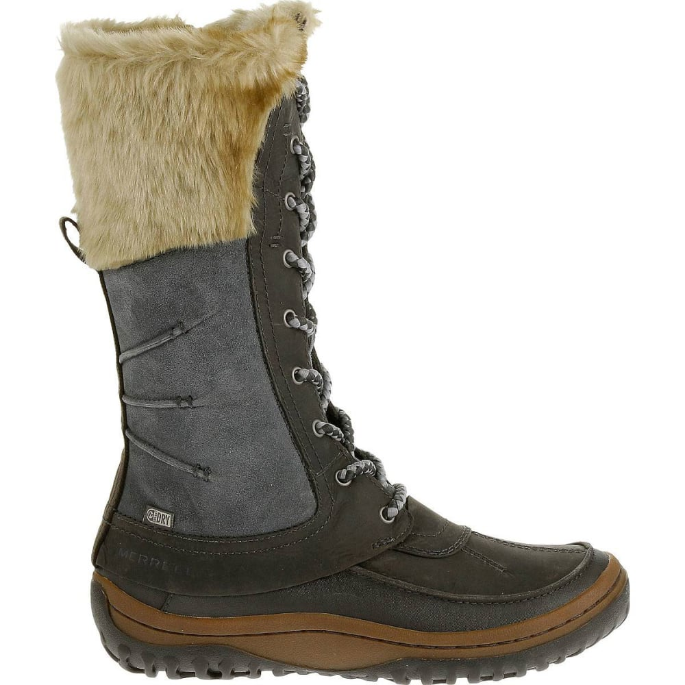 6b1f153c MERRELL Women's Decora Prelude Waterproof Winter Boots, Wild Dove