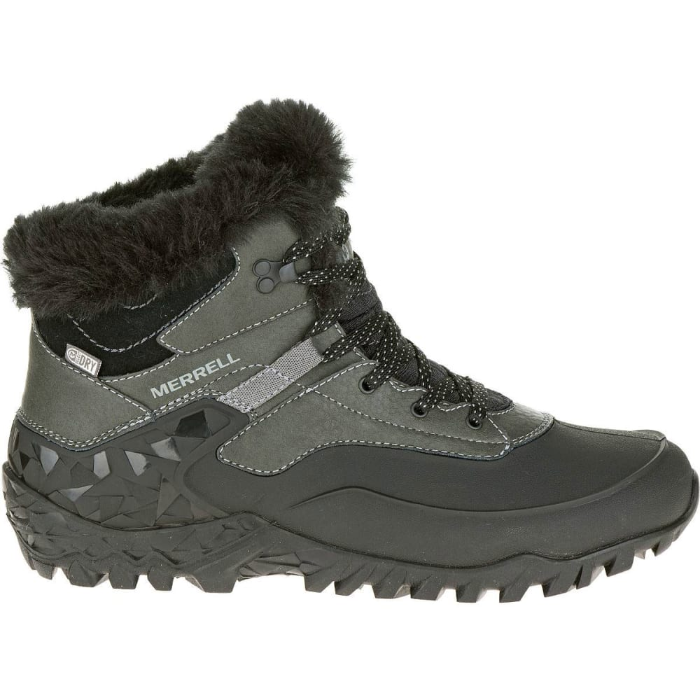 ... MERRELL Women's Fluorecein Shell 6 Waterproof Winter Boots, Black  - BLACK ...