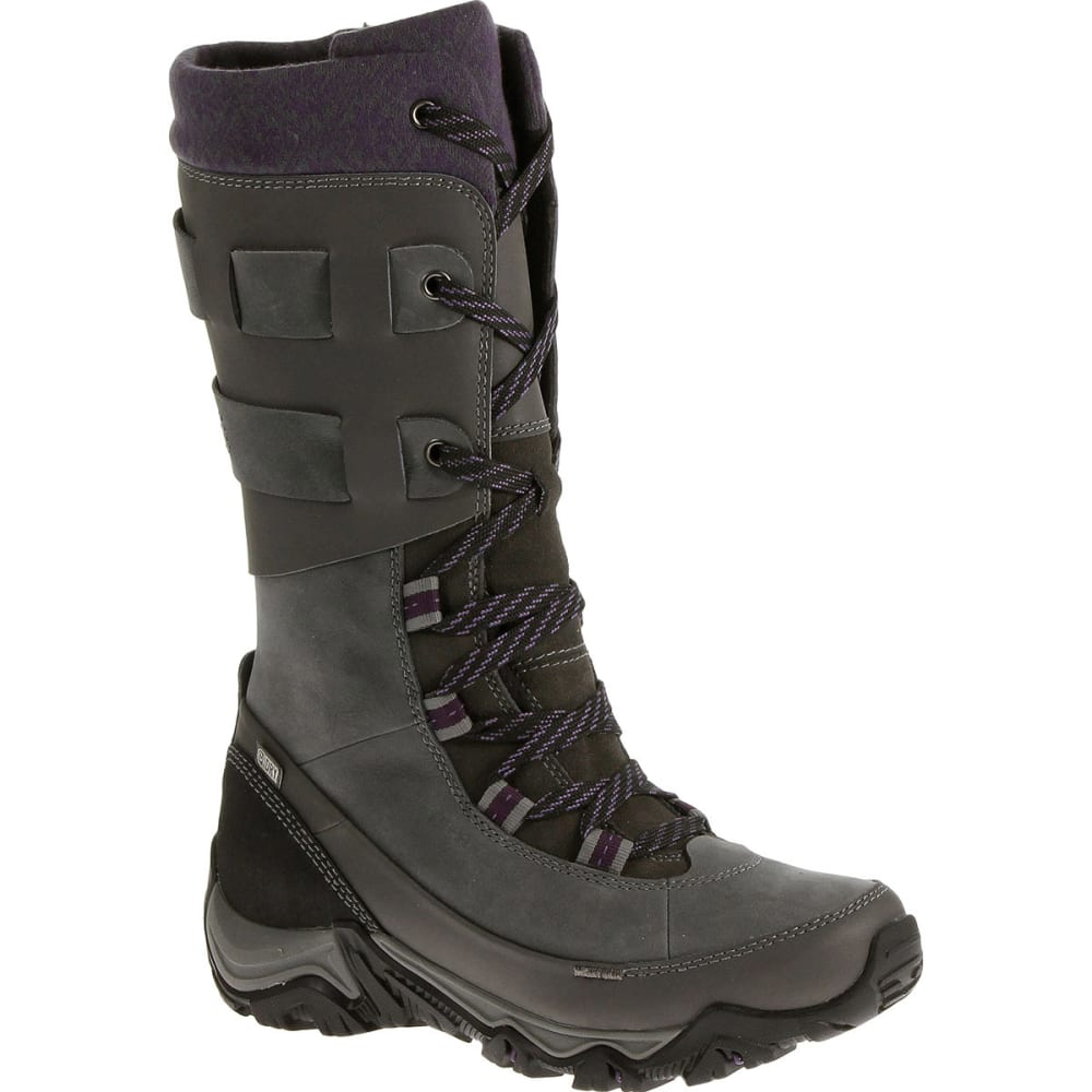 MERRELL Women's Polarand Rove Peak Waterproof Winter Boots