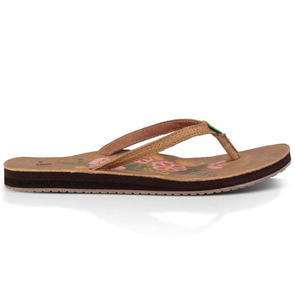 SANUK Women's Flora the Explorer Sandals - TAN