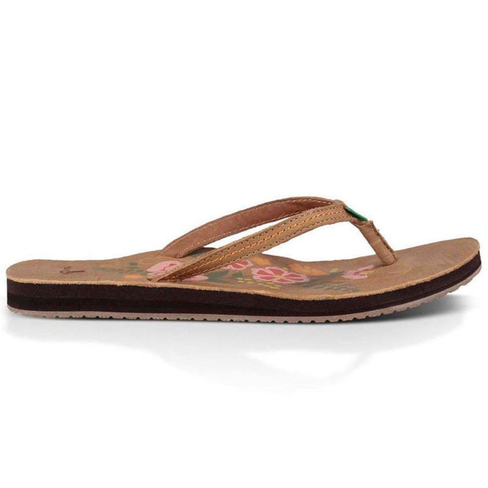 SANUK Women's Flora the Explorer Sandals - TAN