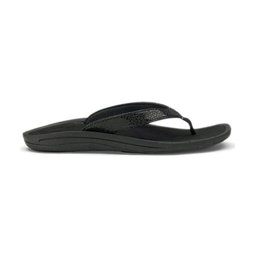 OLUKAI Women's Kulapa Kai Flip - BLACK