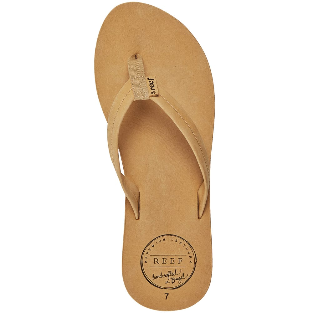 REEF Women's Chill Leather Sandals - TAN