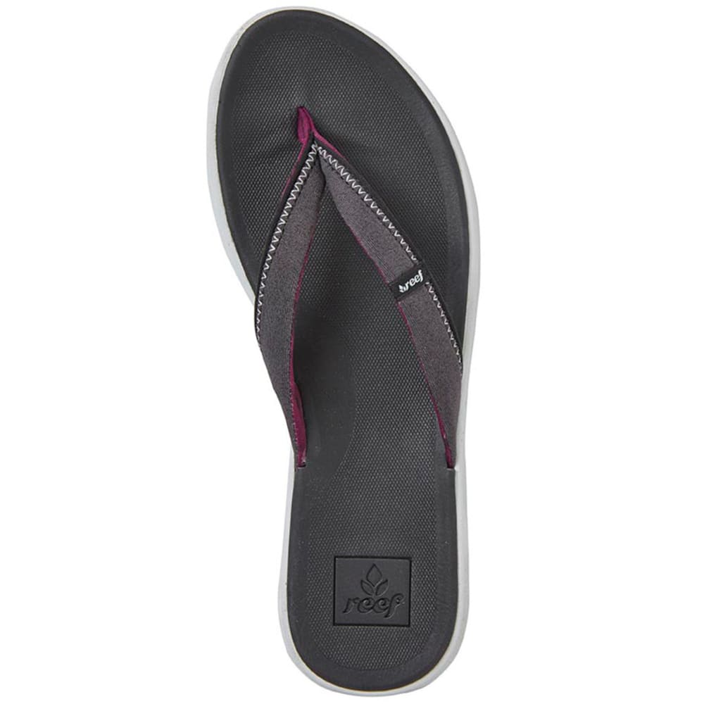 REEF Women's Reef Rover SL Sandals - BLACK