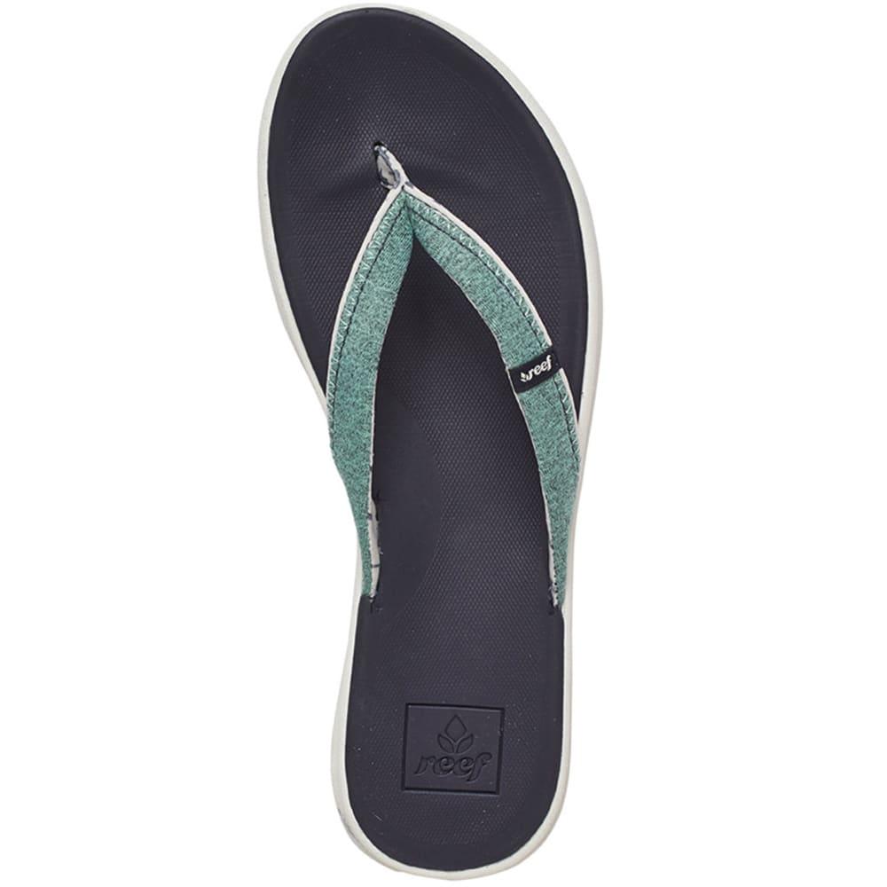 REEF Women's Reef Rover SL Sandals - BLUE
