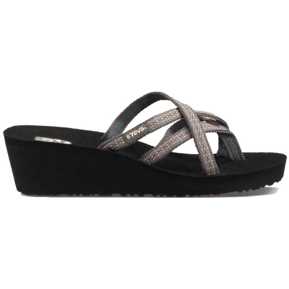 TEVA Women's Mush Mandalyn Wedge Ola Two Sandals - RUMI BROWN