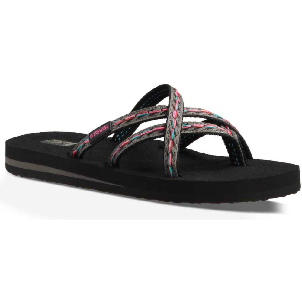 4da46d4ca464 UPC 737045346731 - Teva Olowahu Sandals for Ladies - Felicitas Black ...