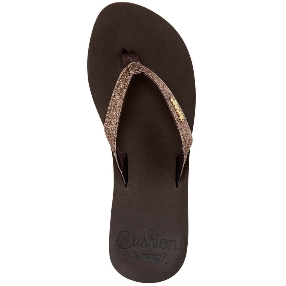 8e69a4d29498 REEF Women  39 s Star Cushion Luxe Flip-Flops - BRONZE