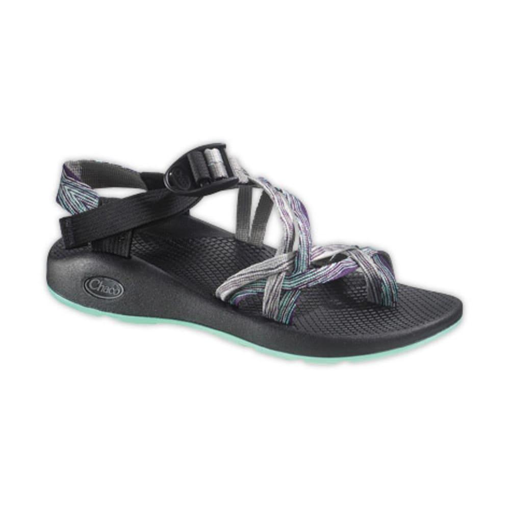 CHACO Women's ZX/2 Yampa Sandals, Pixel Weave - PIXELS NAVY