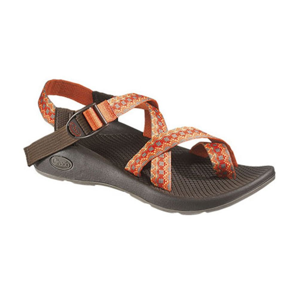CHACO Women's Z/2 Yampa Sandals, Orange/Black - ORANGE/BLACK