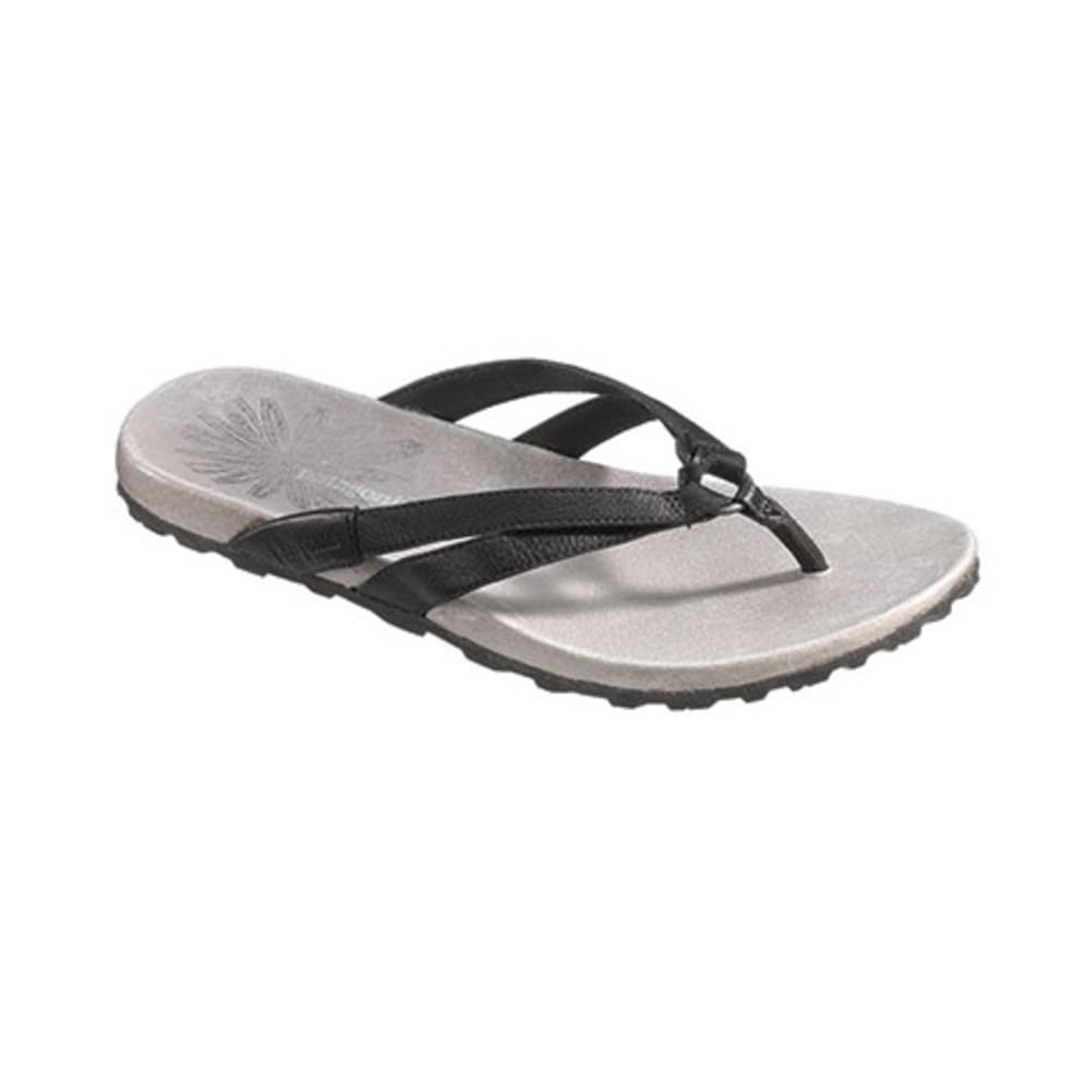 PATAGONIA Women's Poli Thong Sandals, Black - BLACK