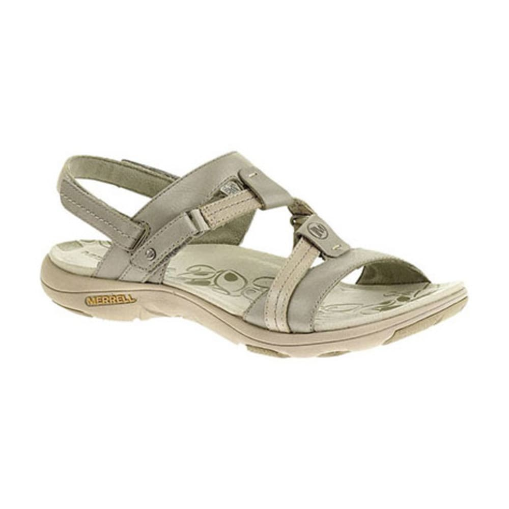 MERRELL Women's Swivel Lavish Sandals, Aluminum - ALUMINUM