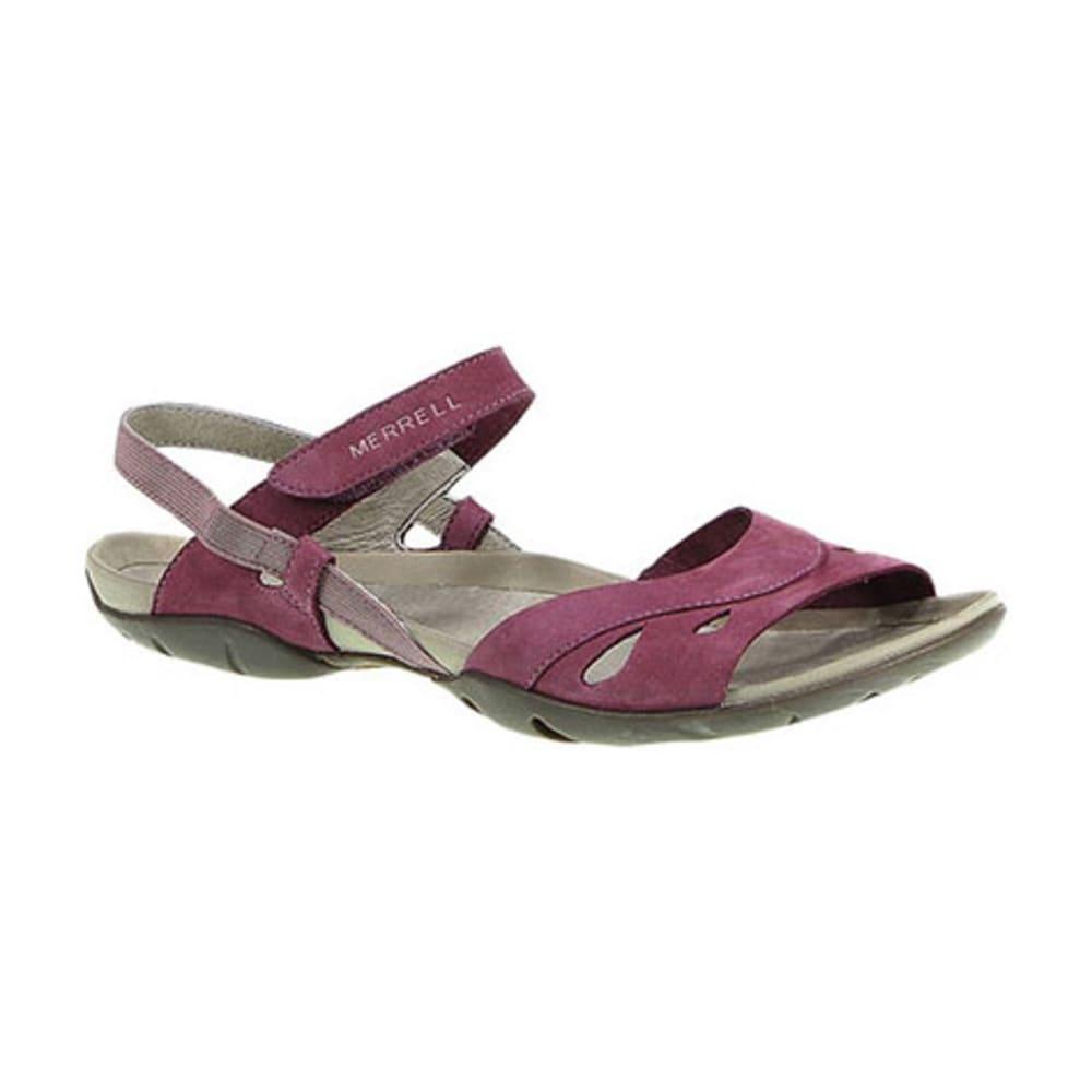 cfdfc377dcd1 MERRELL Women  39 s Barefoot Life Flicker Wrap Sandals
