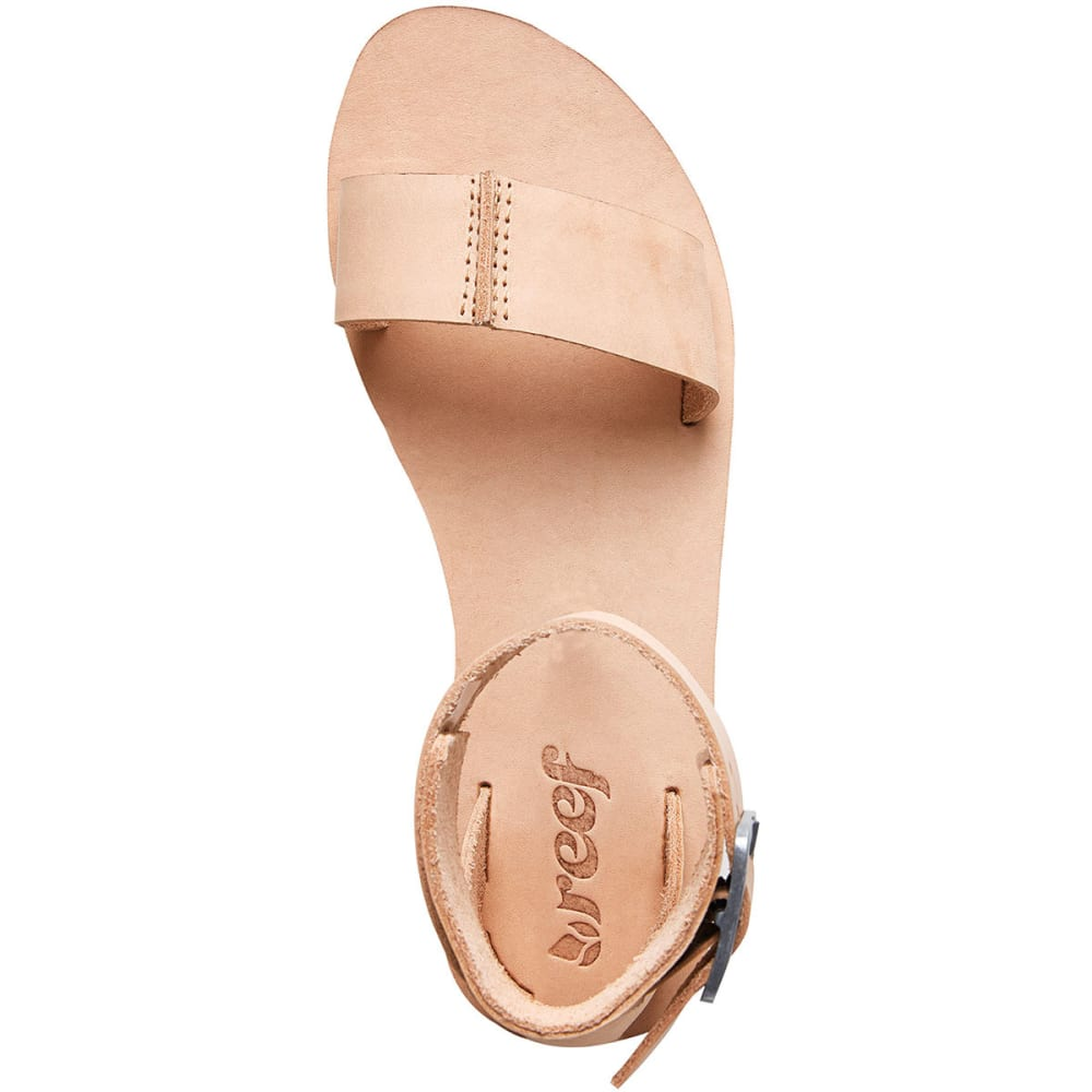 REEF Women's Reef Voyage Sandals, Natural - NATURAL