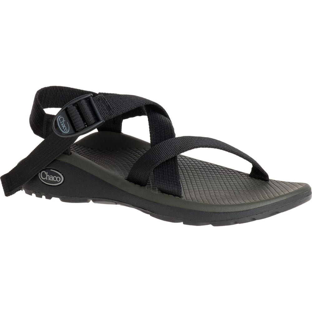 CHACO Women's Z/Cloud Sandals, Black - BLACK