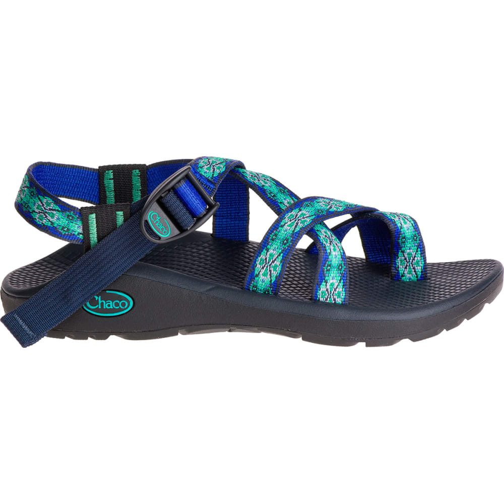 CHACO Women's Z/Cloud 2 Sandals, Laced Aqua - LACED AQUA