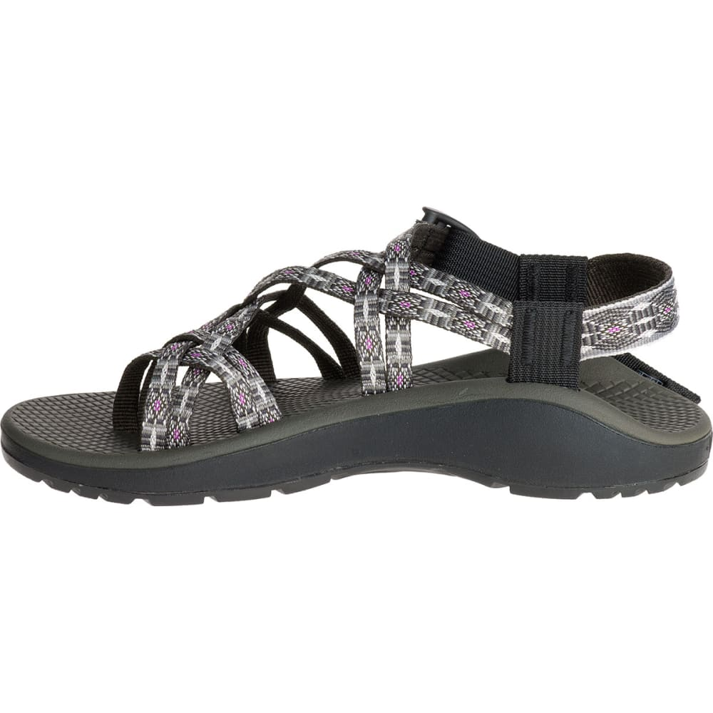 CHACO Women's Z/Cloud X2 Sandals, Ringshell Slate - LIGHT GRAY