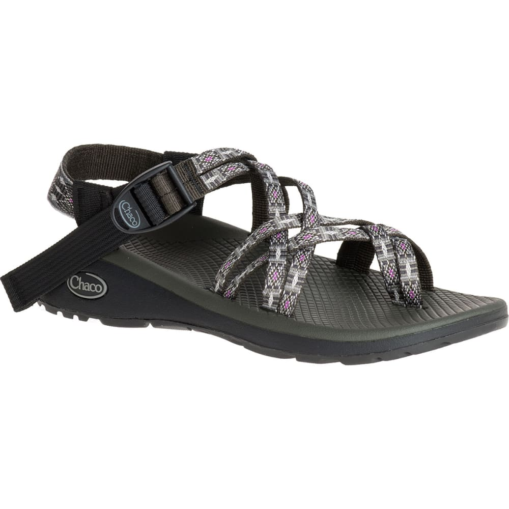 Chaco Women's Z/cloud X2 Sandals, Ringshell Slate - Black