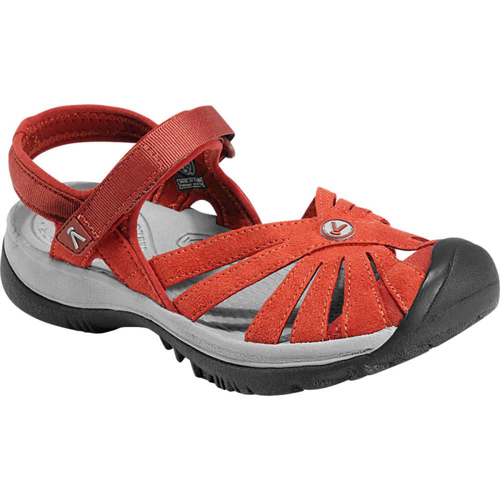 8b776a65832 KEEN Women's Rose Sandals, Burnt Henna ...