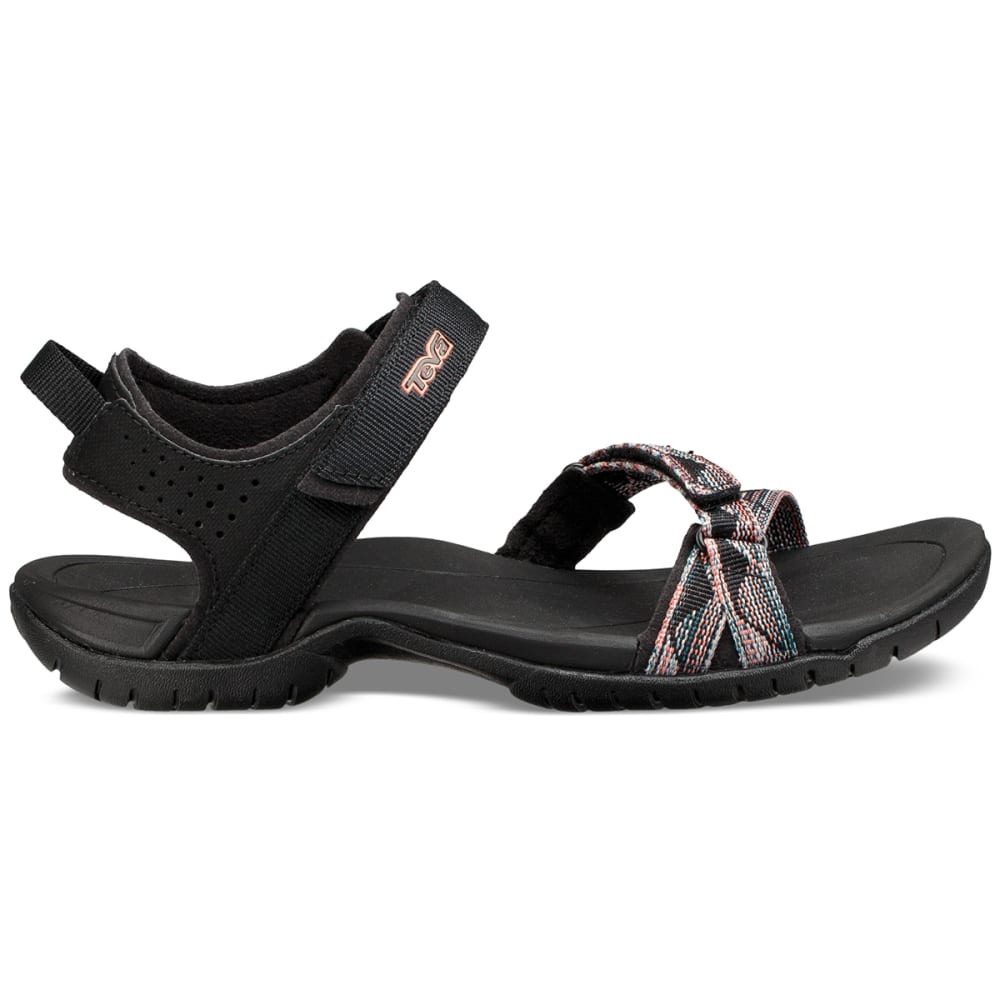 TEVA Women's Verra Sandals - SURF BLACK MLT-SBMLT