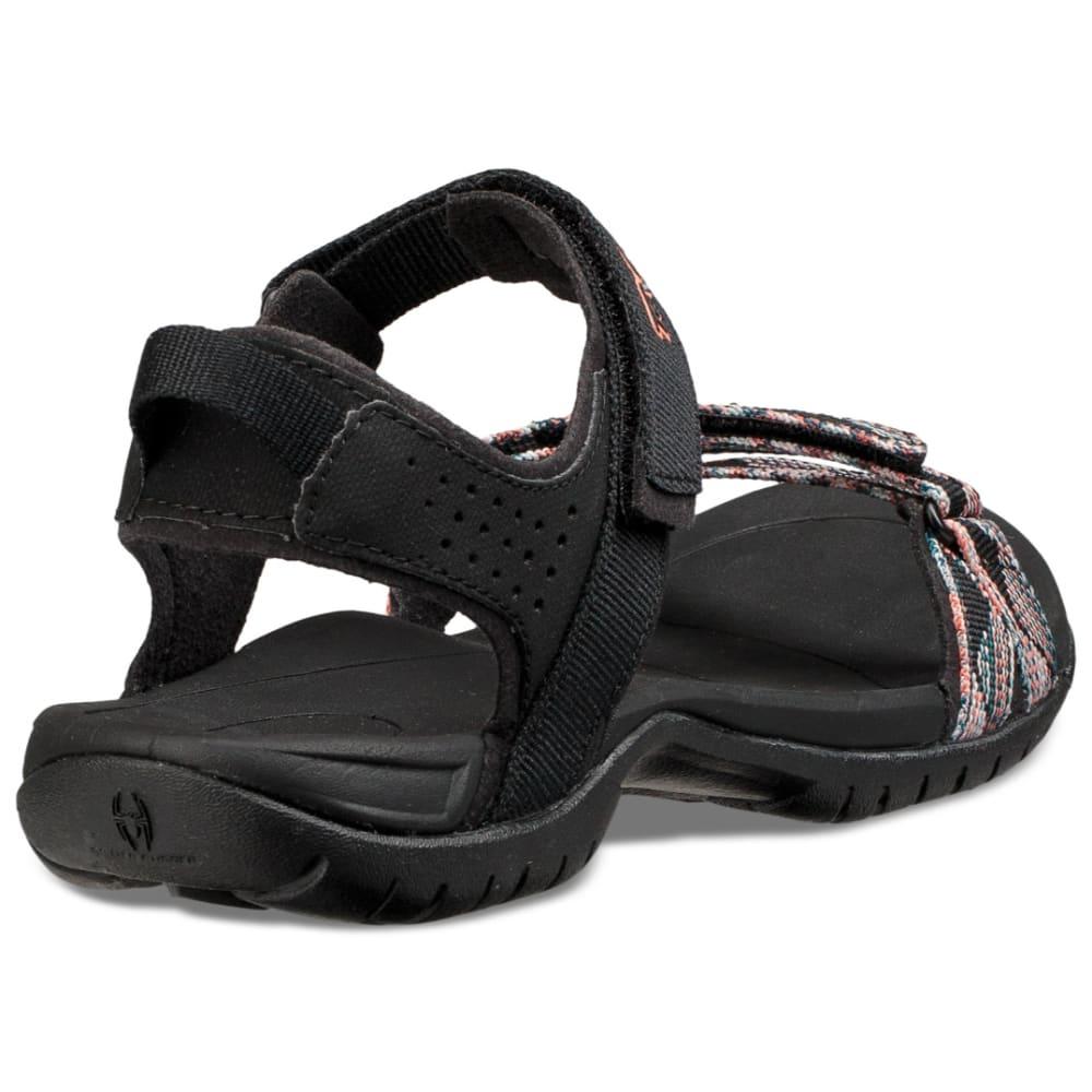 TEVA Women's Verra Sandals - SURF BLACK MLT-SBMLT