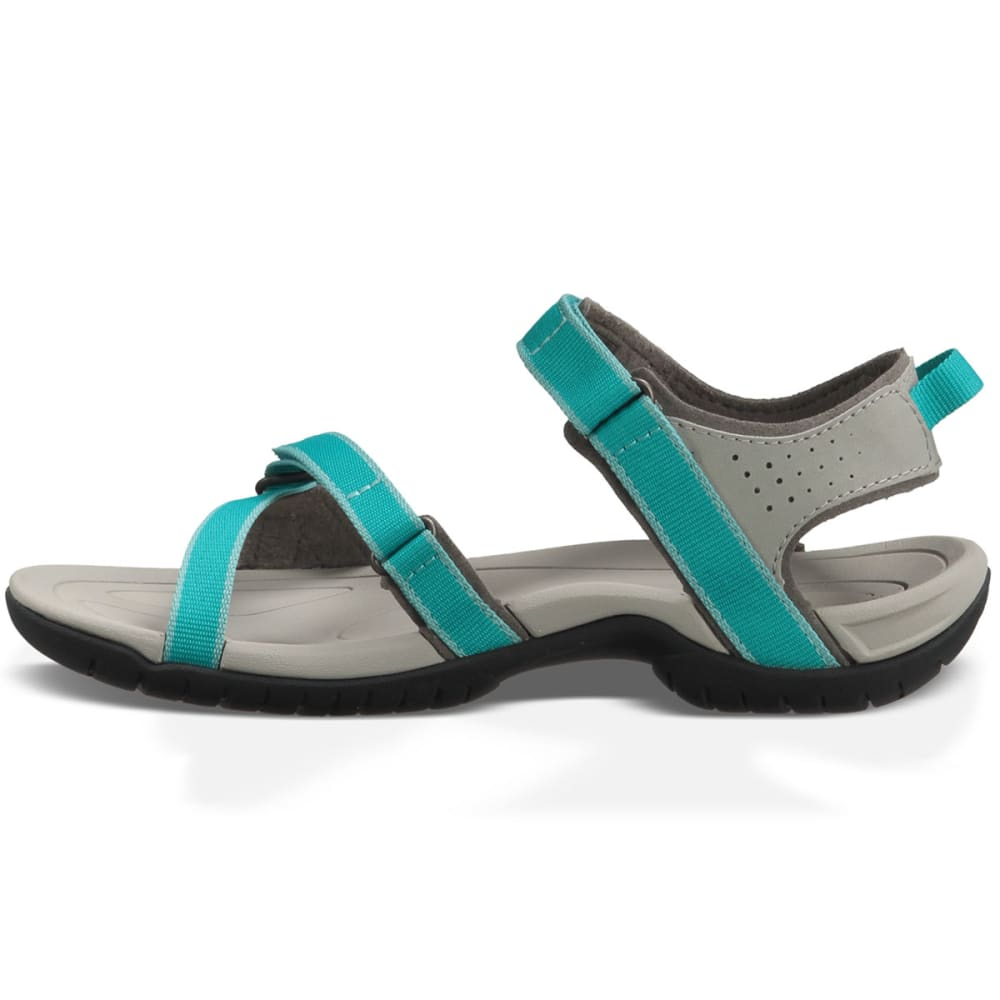 TEVA Women's Verra Sandals, Lake Blue - TURQUOISE/LAKE BLUE