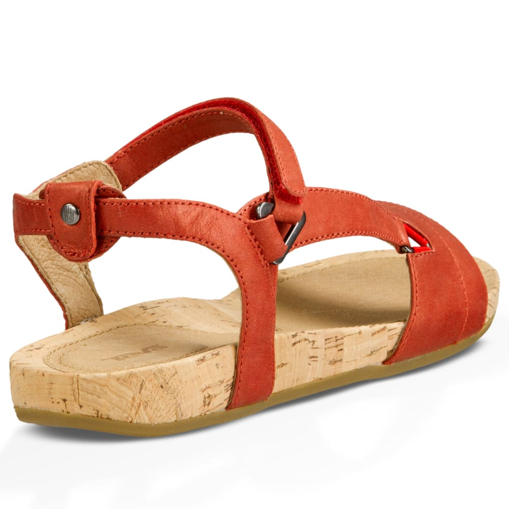 ceaf92763001 TEVA Women  39 s Capri Universal Sandals - RED