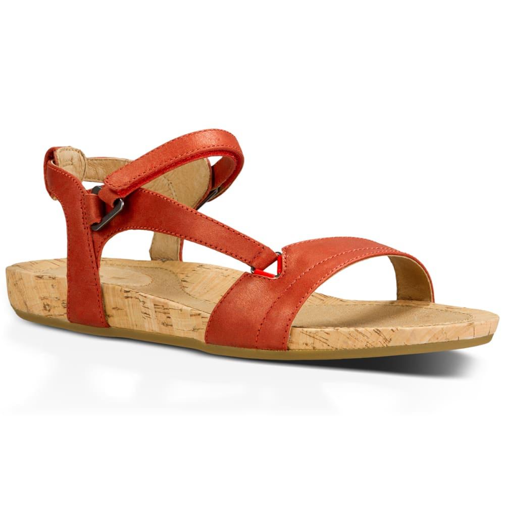 TEVA Women's Capri Universal Sandals - RED