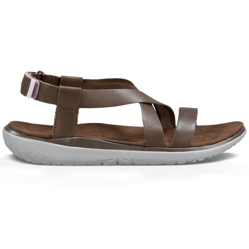 TEVA Women's Terra-Float Livia Lux Sandals - BROWN