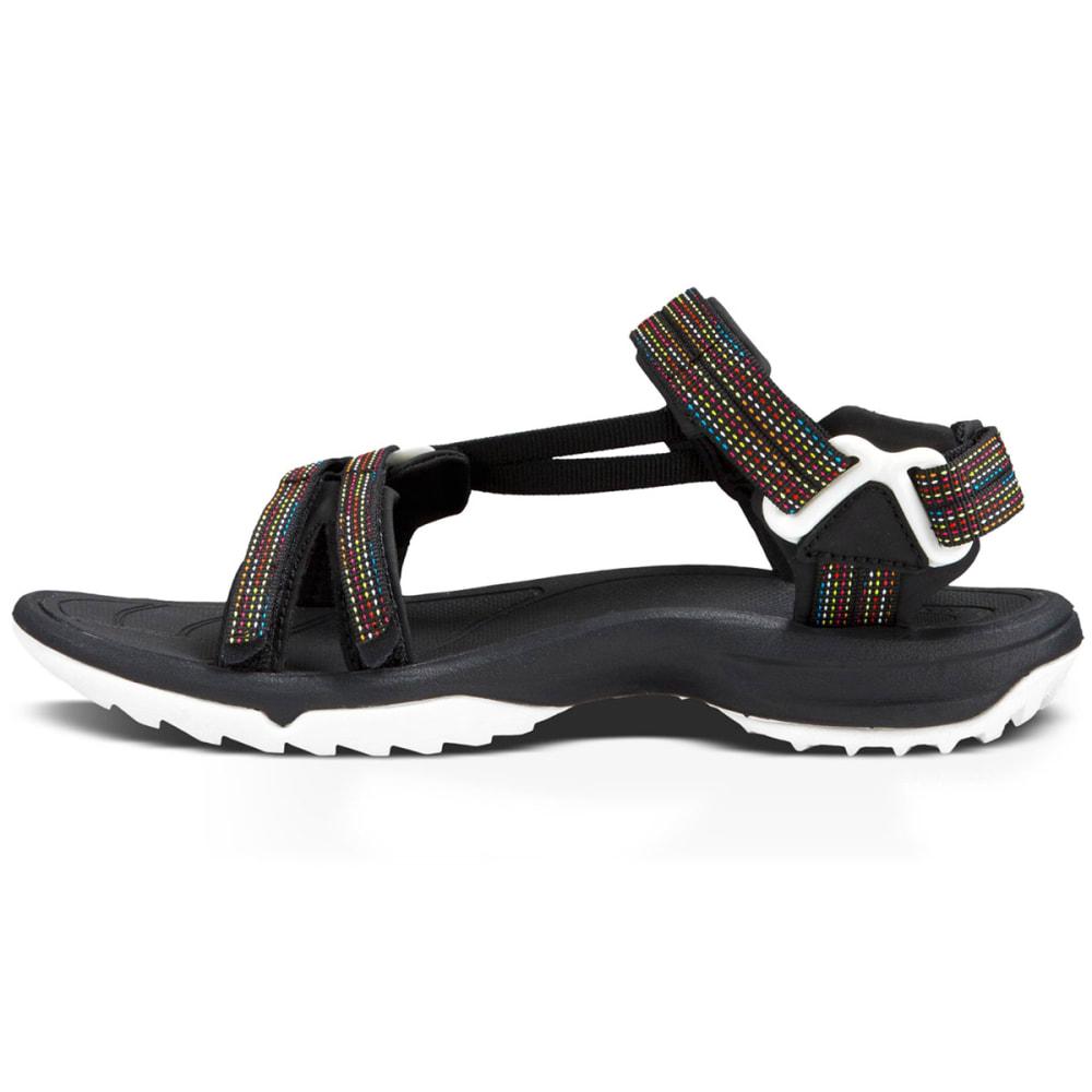 3245618036ab TEVA Women  39 s Terra Fi Lite Sandals - BLACK