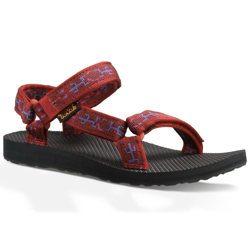 TEVA Women's Original Universal Sandals, Old Lizard Red - RED