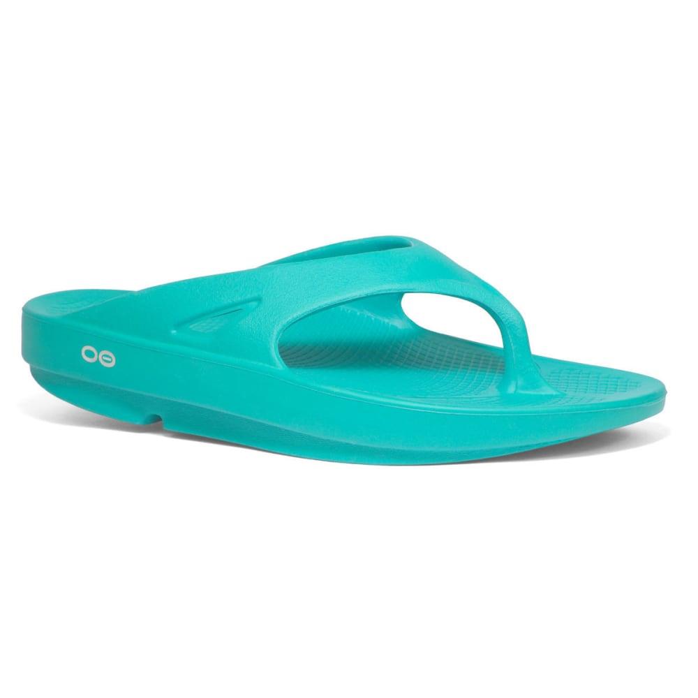 OOFOS Women's Ooriginal Thong Sandals, Aqua - AQUA