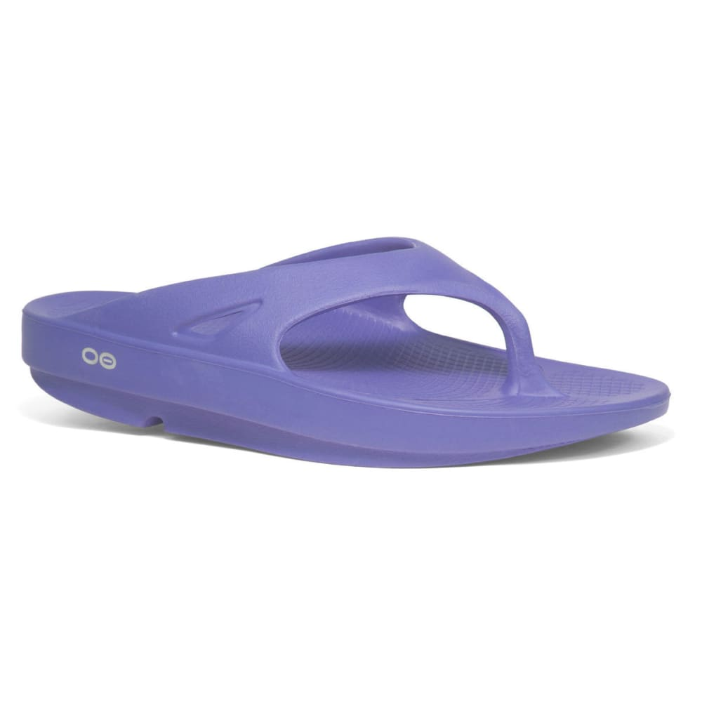 OOFOS Women's Ooriginal Thong Sandals, Periwinkle 9