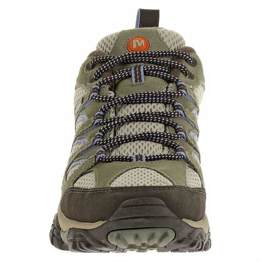 05674756d96 MERRELL Women's Moab WP Hiking Shoes, Dusty Olive