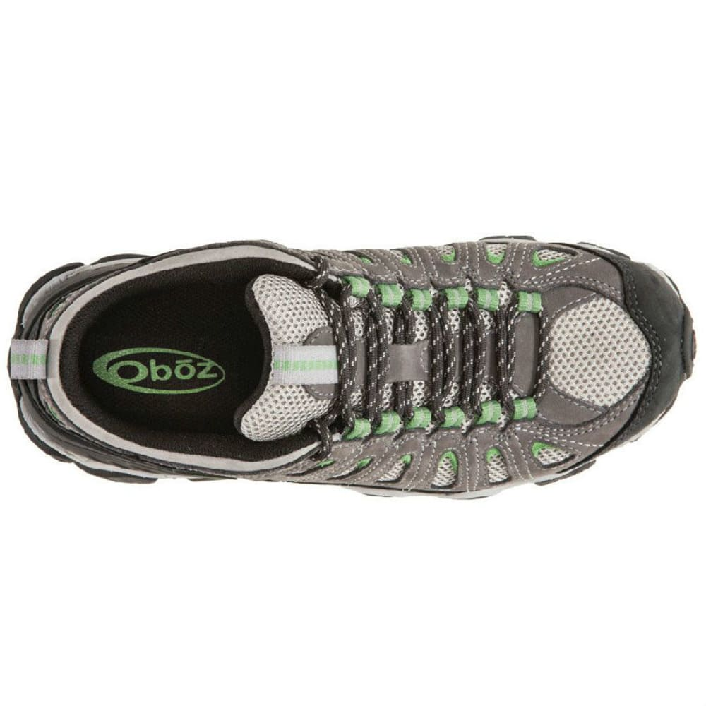 OBOZ Women's Sawtooth Low Hiking Shoes - CLOVER
