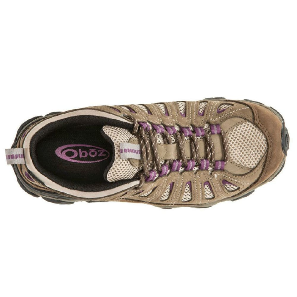 OBOZ Women's Sawtooth Low BDry Waterproof Hiking Shoes - VIOLET