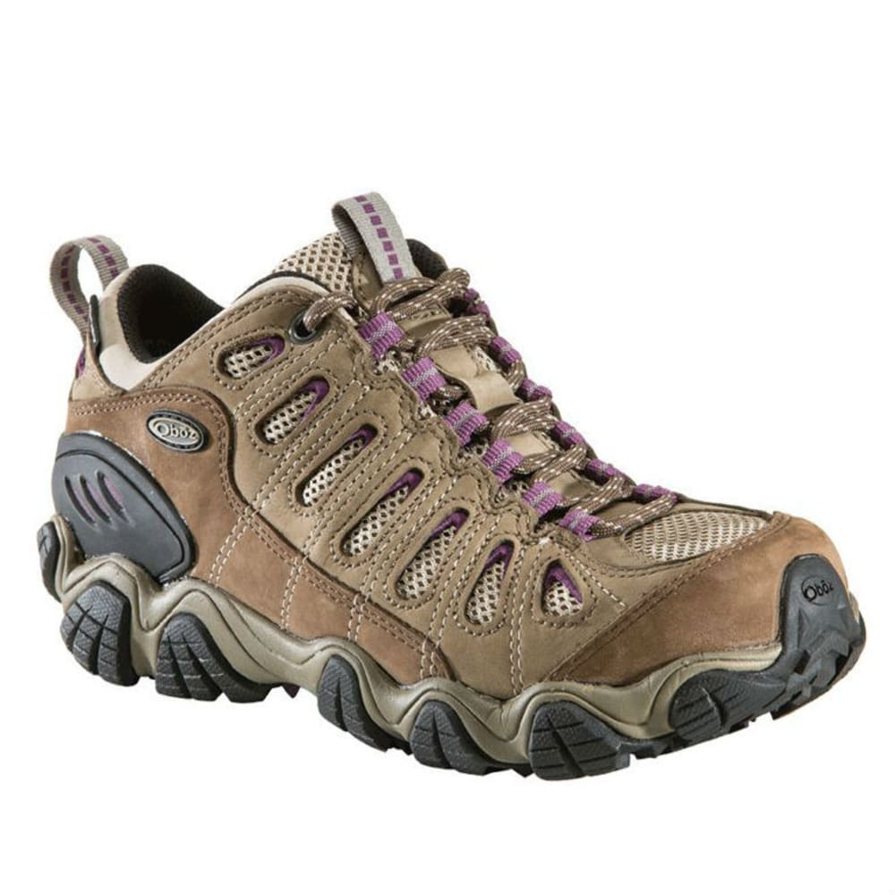 OBOZ Women's Sawtooth Low BDry Waterproof Hiking Shoes 6