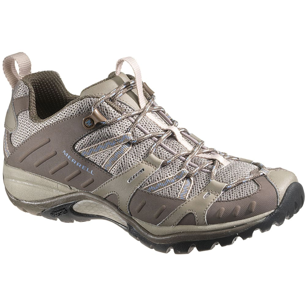 MERRELL Women's Siren Sport 2 Hiking Shoes, Olive, Wide - OLIVE
