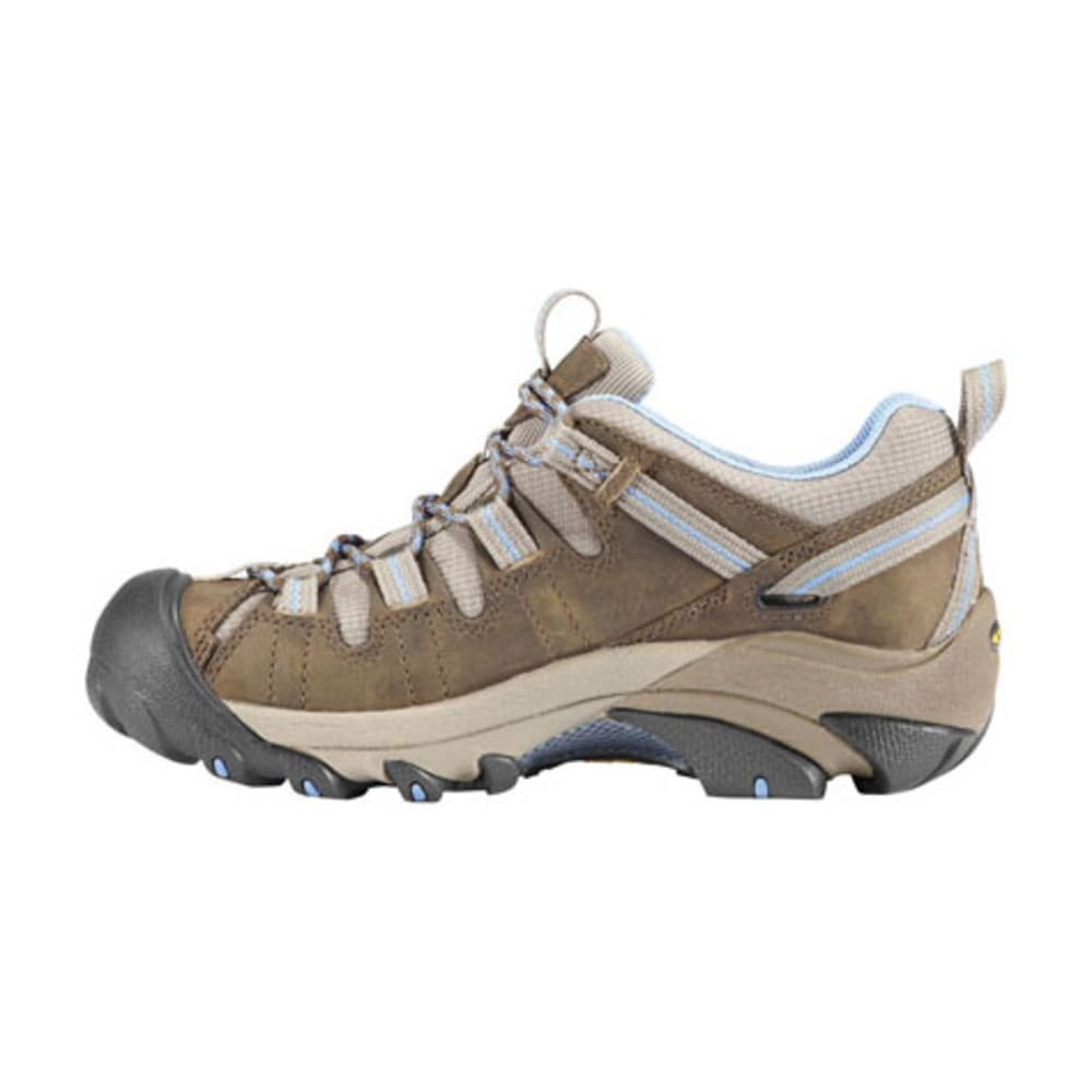 KEEN Women's Targhee II Hiking Shoes, Dark Earth/Allure - DARK EARTH