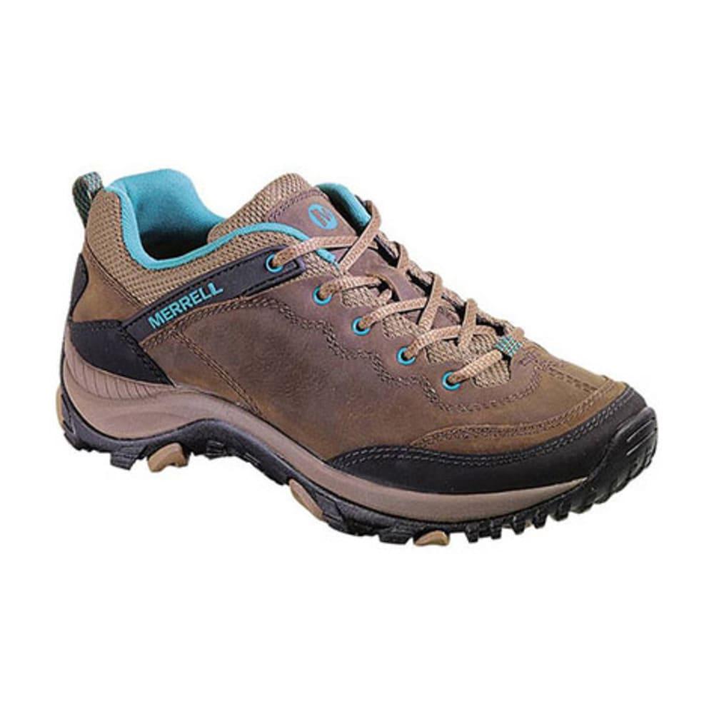 Officiële Website usa goedkope verkoop officieel MERRELL Women's Salida Trekker Hiking Shoes, Dark Earth